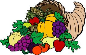 Food, horn of plenty, 1