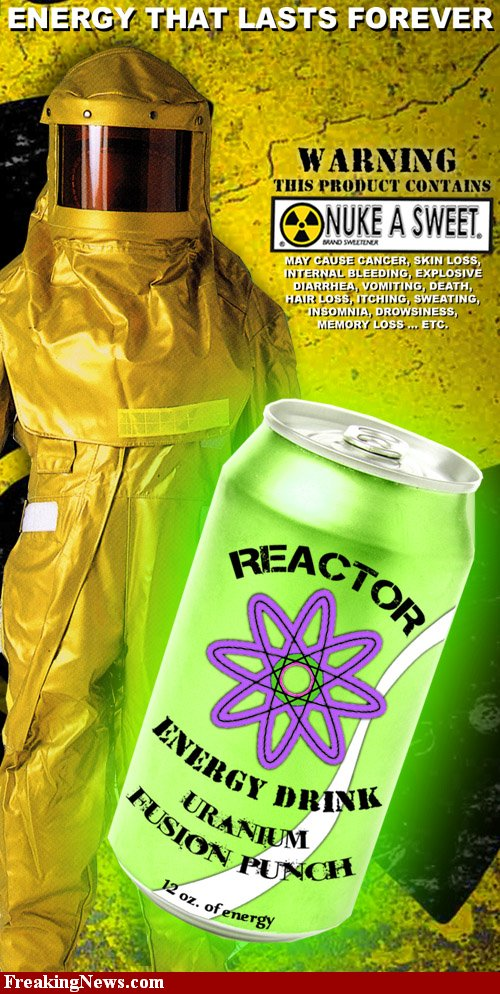 nuke waste 30 Reactor Energy Drink